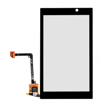 BlackBerry Z10 Display Glas & Touch Screen - Sort BlackBerry til  - MediaNyt.dk