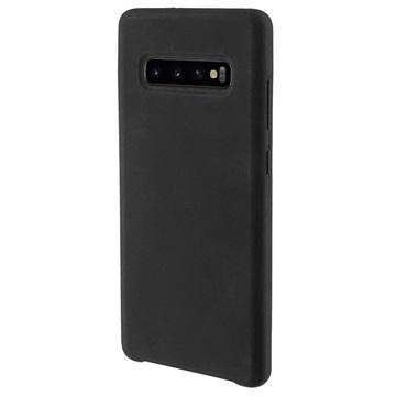 4smarts Cupertino Samsung Galaxy S10+ Silikone Cover - Sort