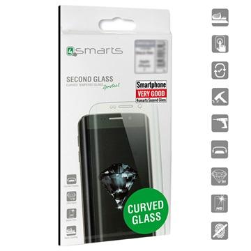 4smarts Curved Glass Samsung Galaxy S9+ Panserglas - Klar