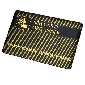 4smarts SIM Kort Holder & Adapter Sæt - Guld