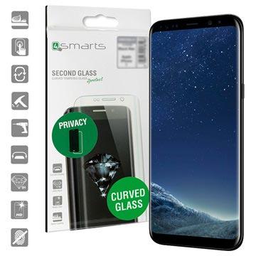 4smarts Second Glass Privacy Samsung Galaxy S8 Panserglas