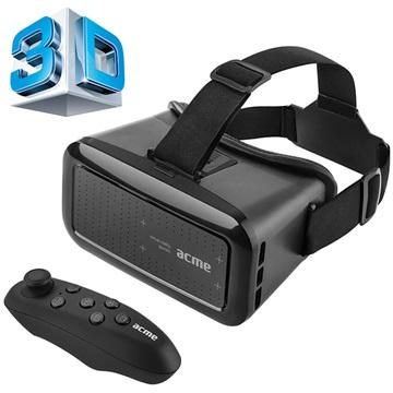 Acme VRB01RC Virtual Reality Briller - 4-6 - Sort