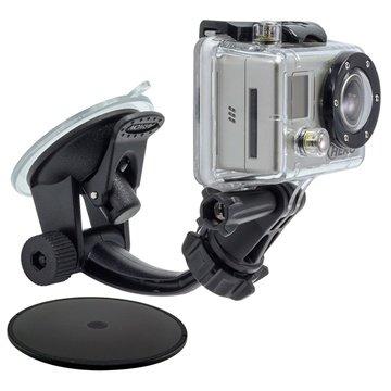Arkon GP114 Bilholder - GoPro HERO3+, GoPro HERO3, HERO2 Arkon til  - MediaNyt