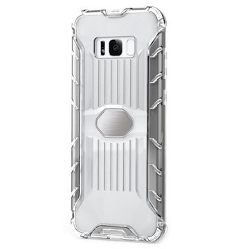 Armor Combo Samsung Galaxy S8 Hybrid Cover - Gennemsigtig