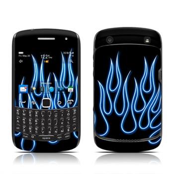 Blackberry Curve 3G 9300, Curve 9350, Curve 9360, Curve 9370 Blue Neon DecalGirl til  - MediaNyt