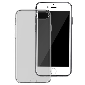 iPhone 7 / iPhone 8 Baseus Simple Series TPU Cover - Sort