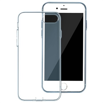 iPhone 7 / iPhone 8 Baseus Simple Series TPU Cover - Blå