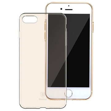 iPhone 7 / iPhone 8 Baseus Simple Series TPU Cover - Guld