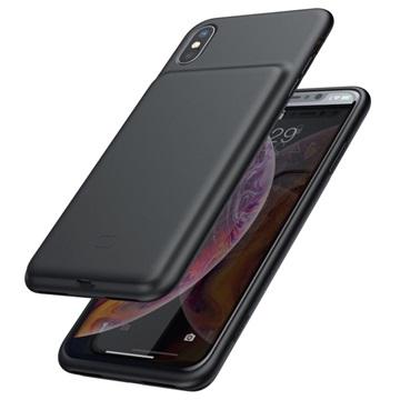 Baseus Smart iPhone X / iPhone XS Silikone Battericover - Sort