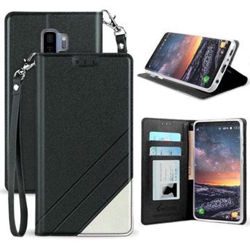 Beyond Cell Infolio C Samsung Galaxy S9+ Pung - Sort / Hvid