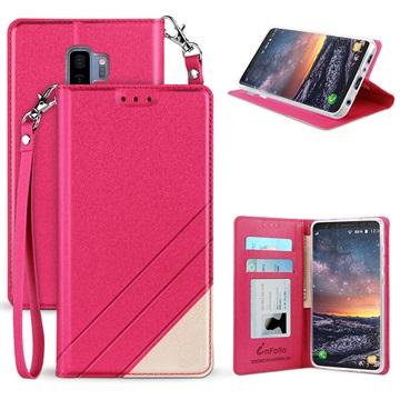 Beyond Cell Infolio C Samsung Galaxy S9+ Pung - Hot Pink / Hvid