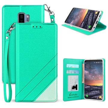 Beyond Cell Infolio C Samsung Galaxy S9+ Pung - Mynte / Hvid