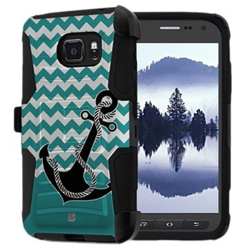 Samsung Galaxy S7 Active Beyond Cell Kombo Shell Cover - Anker / Chevr