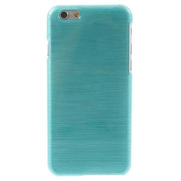 iPhone 6 / 6S Børstet TPU Cover - Blå