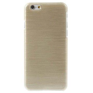 iPhone 6 / 6S Børstet TPU Cover - Guld