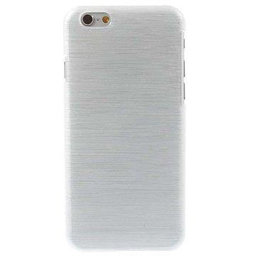 iPhone 6 / 6S Børstet TPU Cover - Hvid