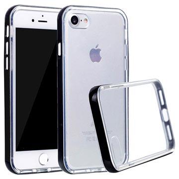 Klar Series iPhone 7 / iPhone 8 Hybrid Cover - Sort