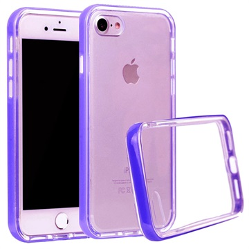 Klar Series iPhone 7 / iPhone 8 Hybrid Cover - Lilla