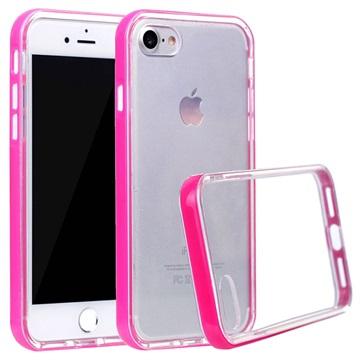 Klar Series iPhone 7 / iPhone 8 Hybrid Cover - Rød