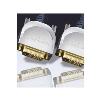 Clicktronic DVI-D / DVI-D Kabel - 1,5m MTP Products til  - MediaNyt.dk