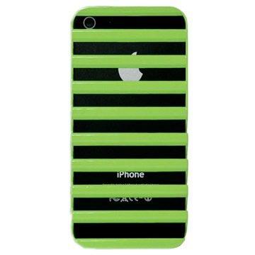 iPhone 5 / 5S / SE Code Ladder Hårdt Cover - Grøn