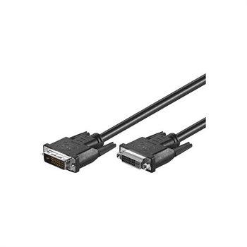 DVI-D Forlænger Kabel - 5m MTP Products til  - MediaNyt.dk