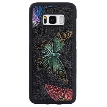 Dream Series Samsung Galaxy S8 3D Cover - Sommerfugle