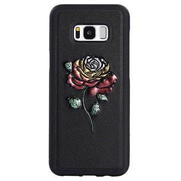 Dream Series Samsung Galaxy S8+ 3D Cover - Rose