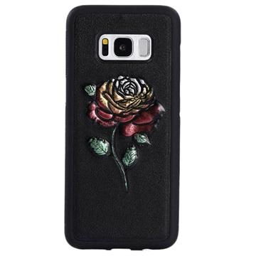Dream Series Samsung Galaxy S8 3D Cover - Rose