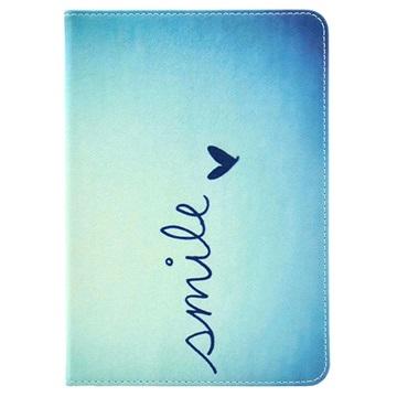 Folio Taske - iPad Mini, iPad Mini 2, iPad Mini 3 - Smile