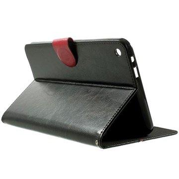 Asus Fonepad 8 FE380CG Folio Læder Taske - Sort / Rød MTP Products til  - MediaNyt.dk