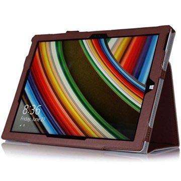 Microsoft Surface Pro 3 Folio Læder Taske - Brun