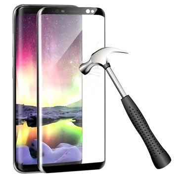 Samsung Galaxy S9 Full Cover Panserglas - Sort
