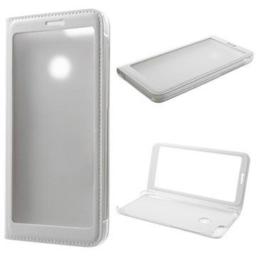 Full View Series Huawei P Smart Folio Taske - Hvid