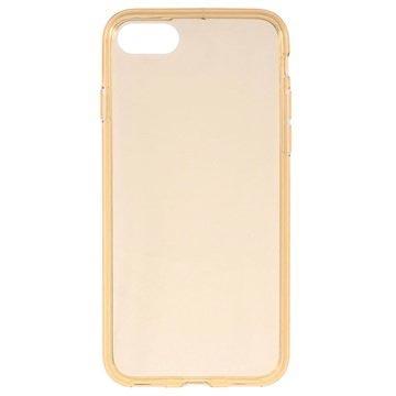 Glossy iPhone 7 TPU Cover - Guld