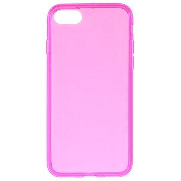 Glossy iPhone 7 TPU Cover - Hot Pink