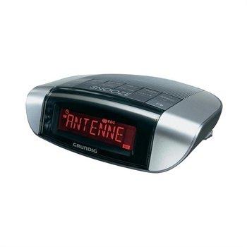 Grundig Sonoclock 660 Radio Clock - Sølv / Titan Grundig til  - MediaNyt