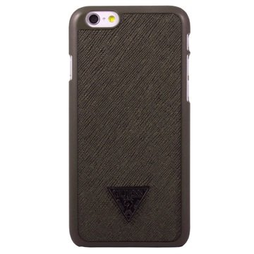 iPhone 6 / 6S Guess Brad Collection Hårdt Cover - Brun