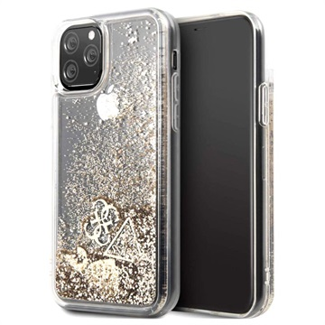 Guess Glitter Collection iPhone 11 Pro Cover - Guld