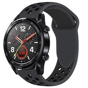 Huawei Watch GT Silikone Sportsrem - Sort