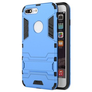 iPhone 7 Plus Hybrid Cover - Babyblå