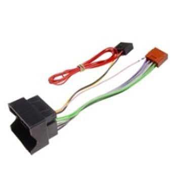 ISO Adapter Kabel - VW 2003- / Skoda Octavia stream radio, 04- KRAM Telecom til  - MediaNyt.dk