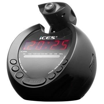 Ices ICRP-212 Vækkeur Radio - Sort MTP Products til  - MediaNyt