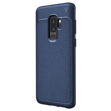 Ivso Gentry Tekstureret Samsung Galaxy S9+ TPU Cover - Blå