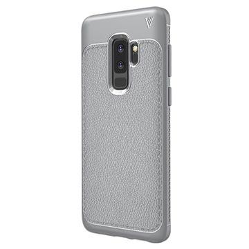 Ivso Gentry Tekstureret Samsung Galaxy S9+ TPU Cover - Grå