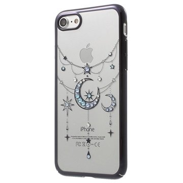 Kingxbar Swarovski iPhone 7 Cover - Månen