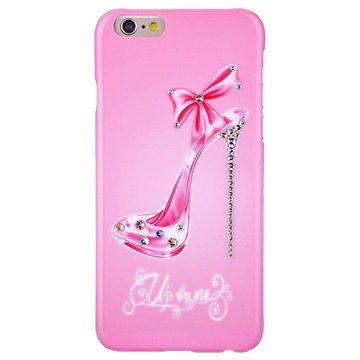iPhone 6 / 6S Kingxbar Swarovski Crystal Hårdt Cover - Diamant Pumps