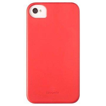 iPhone 4 / 4S Krusell BioCover - Rød