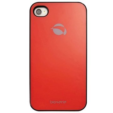 iPhone 4 / 4S Krusell GlassCover - Rød