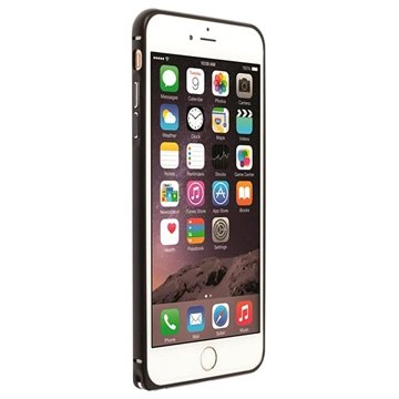 iPhone 6 Plus / 6S Plus Krusell Sala Aluminiums Bumper - Sort
